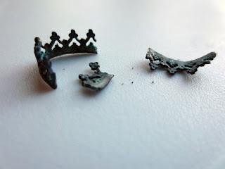oxidized argentium silver gallery wire