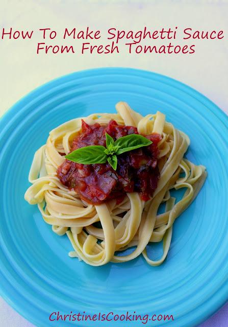 how to make spaghetti sauce