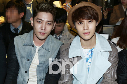 Shinee Taemin Super Junior Kangin Seoul Fashion Week 130327