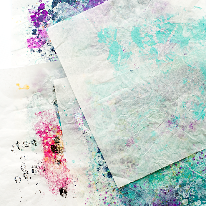 Heather Greenwood Designs   Don't Waste Your Paint   how to use deli paper to save paint from your projects   Project Life®, Documented Life Project, Journaling Bible