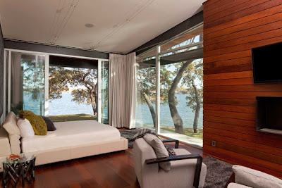 bedroom with fresh view