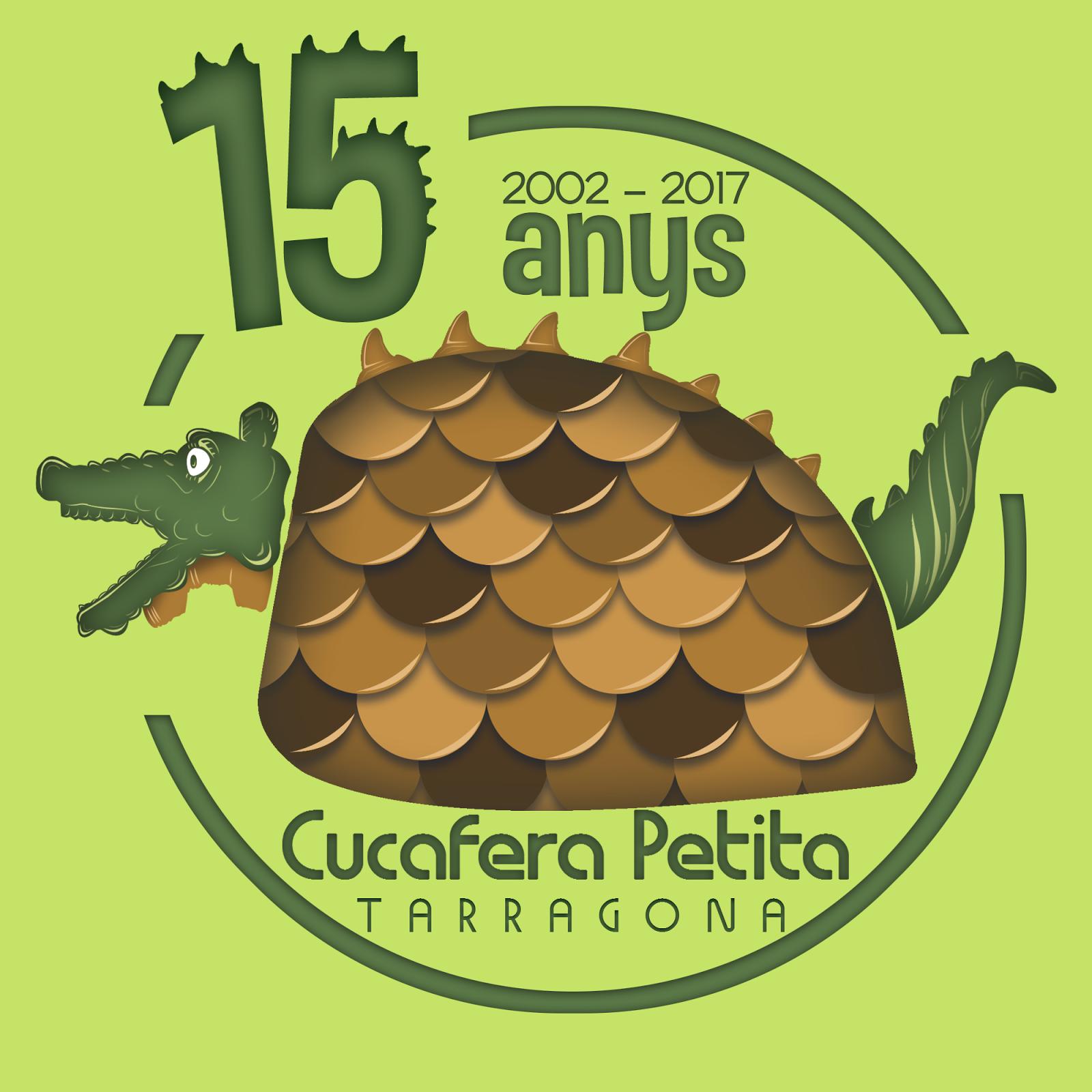 LOGO 15 ANYS CUCAFERA PETITA