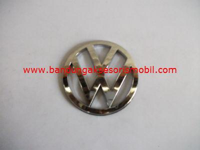 Emblem Logo Mobil Bulat Tempel Vw