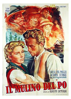 Cover, caratula, cartel, dvd: El molino del Po | 1949 | Il mulino del Po