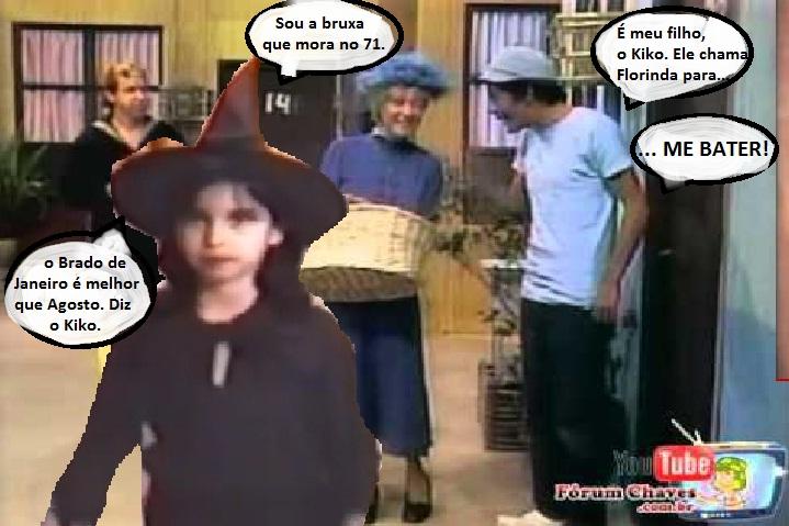 uma Bruxa entra na Vila