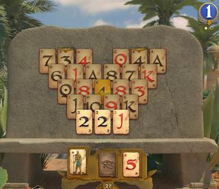 Pyramid Solitaire Saga Level 43