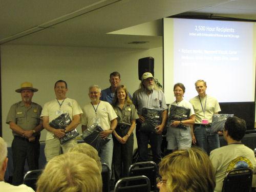 NPS award recipients