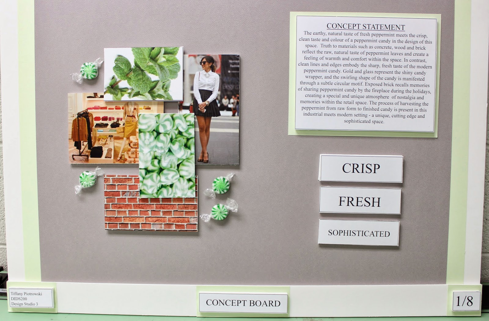 Term Four Final Project Tips for Creating your own Design Boards