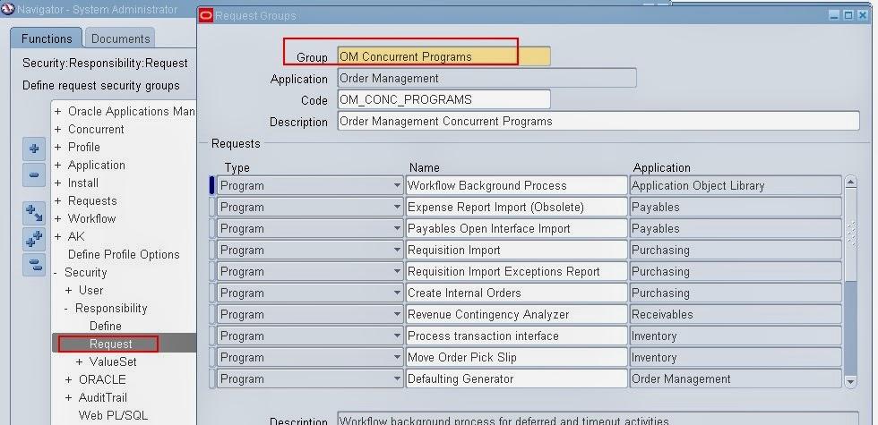 concurrent manager assign concurrent program