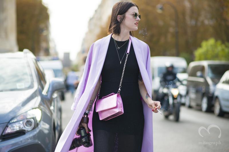 Marianne Theodorsen at Paris Fashion Week 2015 Spring Summer PFW