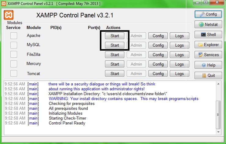 Download XAMPP 5.6.3 Terbaru Untuk Windows Dan Cara Instal XAMPP