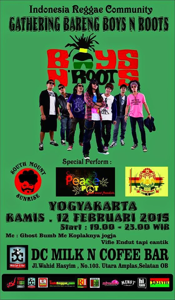 Event : Gathering Bareng Boys N Roots