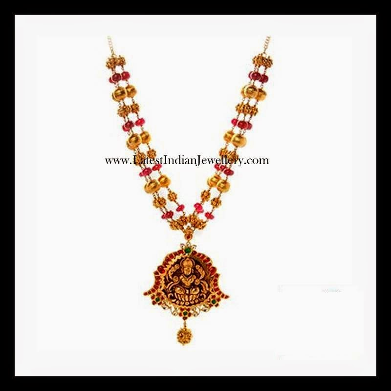 Precious Ruby Temple Jewellery