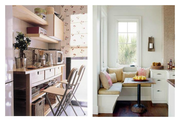 Una pizca de hogar 14 trucos para crear una zona de comer - Decorar office cocina ...