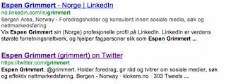 Søk Espen Grimmert LinkedIn