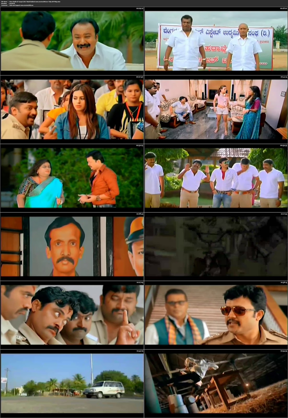 Mere Badle Ki Taaqat 2017 Hindi Dubbed Full Movie SDTVRip 720p at softwaresonly.com