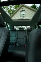 inside new car