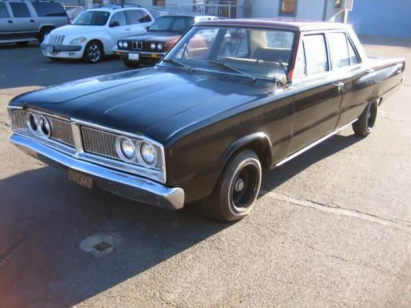 1k: Henchmen Ride: 1966 Dodge Coronet 318 Sedan