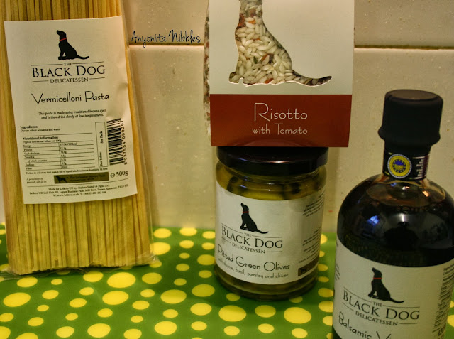 A range of Italian Black Dog Delicatessen products from www.anyonita-nibbles.com
