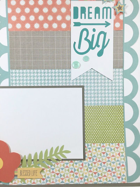 Cricut Artistry Dream Big Layout