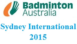Australia Sydney Badminton International 2015