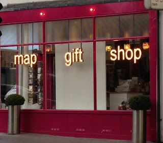 New map gift shop front
