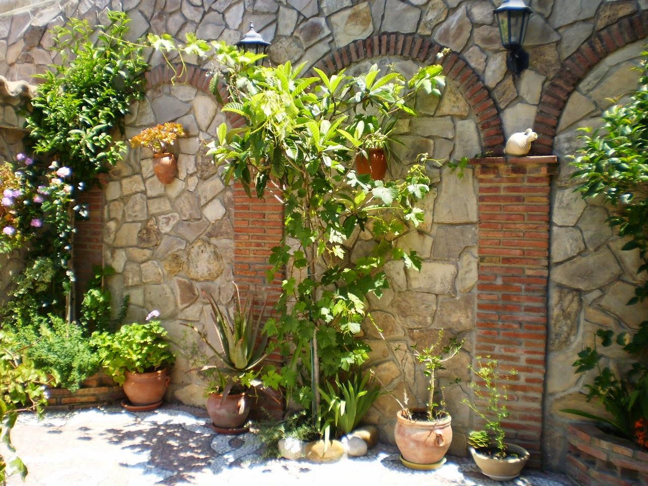 Abre tu patio a la red patios junio 2013 for Patios con plantas