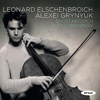 Rachmaninov - Cello Sonata, Shostakovich - Viola Sonata, Leonard Elschenbroich, Alexei Grynyuk, ONYX 4116