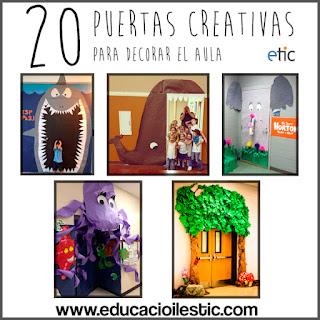 Ayuda para maestros 20 puertas creativas para decorar el aula for Puertas decoradas educacion infantil