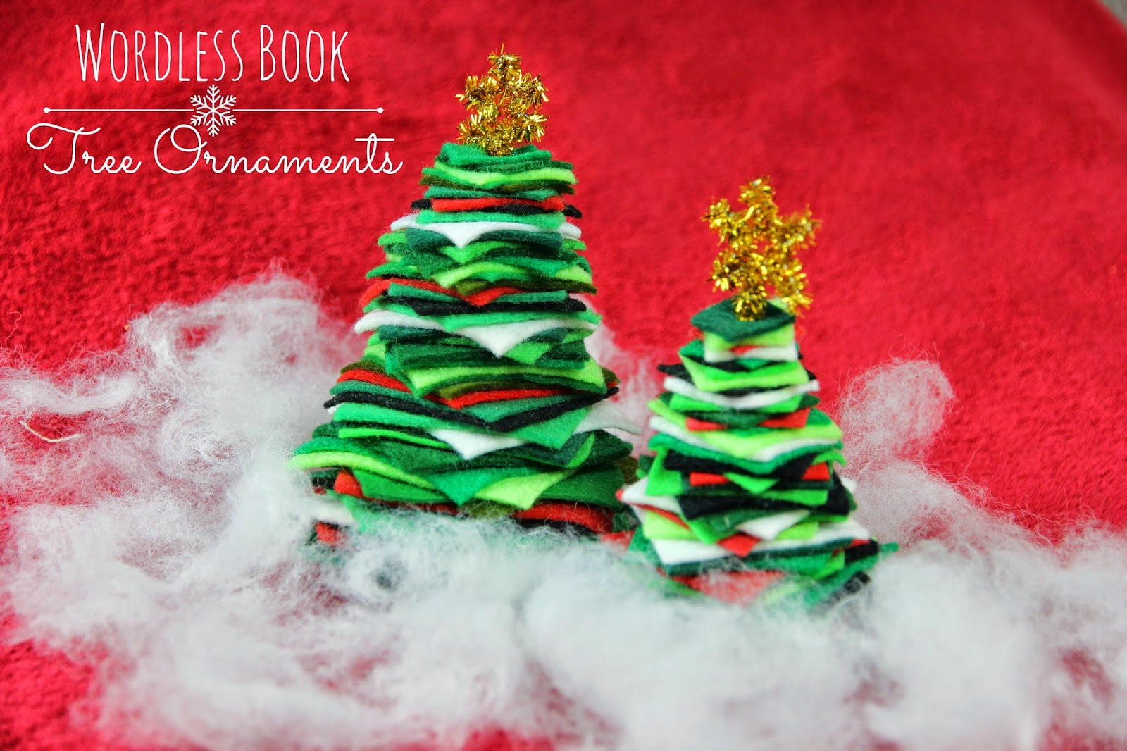 Jesus is the Good News: Wordless Book Tree Ornament