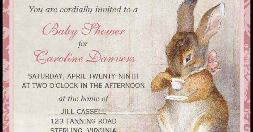 Imagina on zazzle beatrix potter bunny rabbit baby shower tea imagina on zazzle beatrix potter bunny rabbit baby shower tea invitations filmwisefo