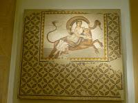 Mosaico romano. Museo arqueológico de Beirut, Líbano