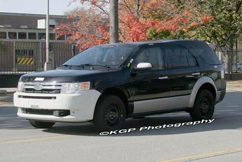 2011 Ford Explorer, Thanks to