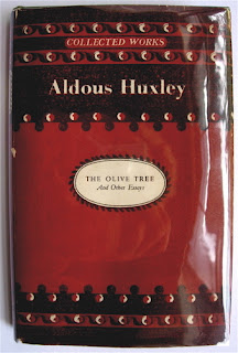 aldous huxley the olive tree and other essays
