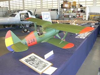 Aeromodel del caça Polikarpov I-15