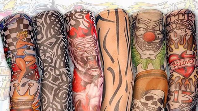 Mangas Medias Tatuaje