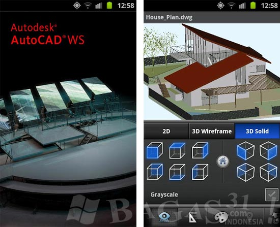 Autodesk AutoCAD WS for Android 2