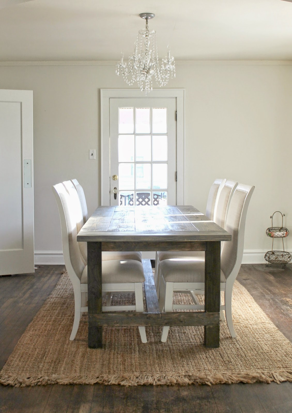 Farmhouse Table- Beyond The Portico-Treasure Hunt Thursday- From My Front Porch To Yours
