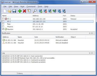 WinLock Remote Administrator v2.15