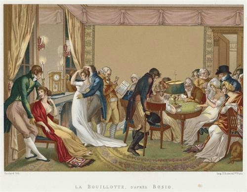 Image result for pictures of the bouillotte game table