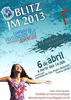 JM de Maceió/AL organiza Blitz Missionária