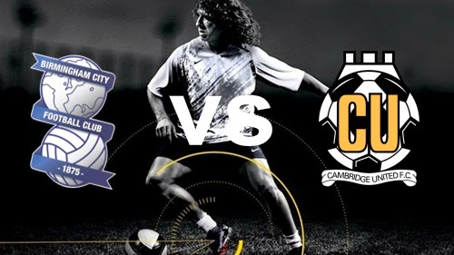 Prediksi Skor Terjitu Birmingham City vs ambridge United jadwal 13 agustus 2014