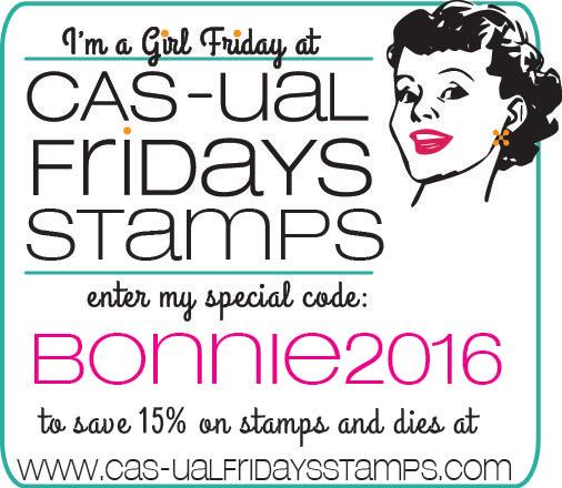 Use this Discount Code for CAS-ual Friday Stamps!!