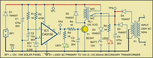 Hybrid Solar Charger Expert Circuits