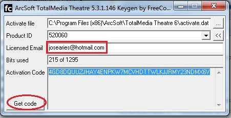 arcsoft totalmedia 3.5 + activation key