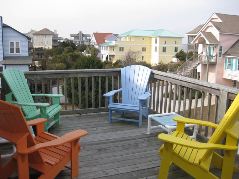 Emerald Isle Porch