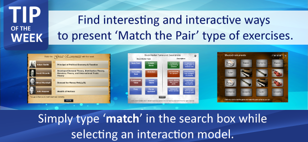 Tip of the Week: 'Match the Pairs' with Raptivity interactions
