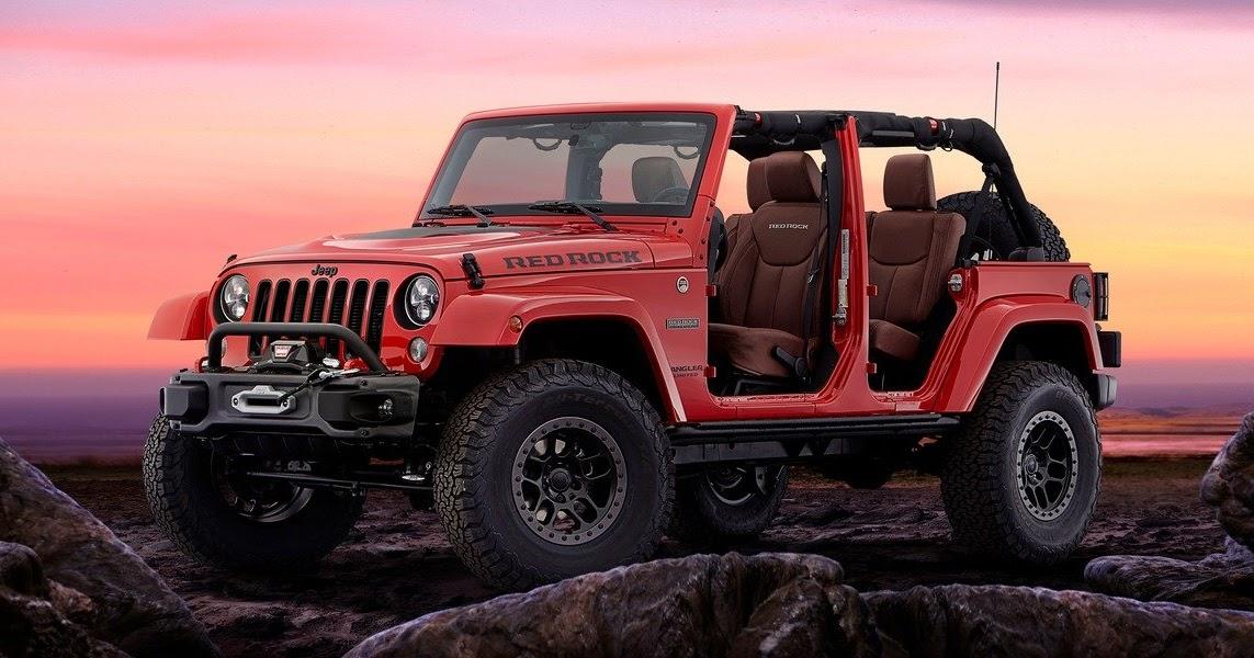 Blogue - La Maison Chrysler Fiat de Charlesbourg: Salon SEMA : Jeep présente le Wrangler Red ...