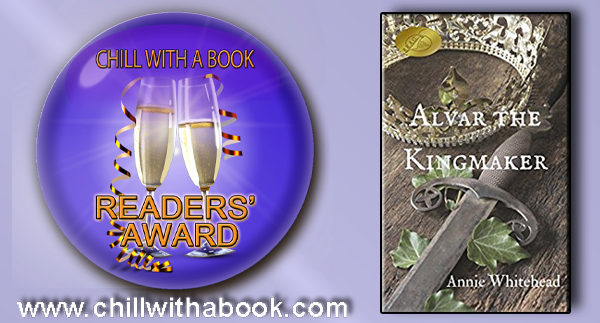 Alvar wins a Chill with a Book award!