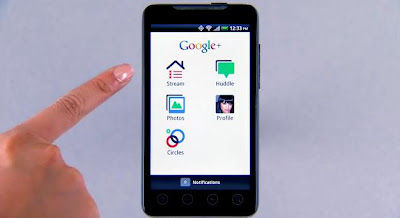 Google+, Mobile, Facebook